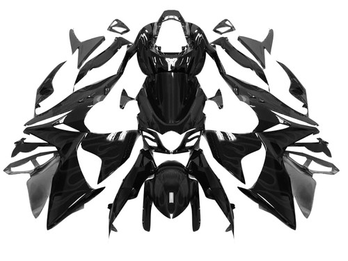 Fairings Suzuki GSXR 1000 Black GSXR Racing (2009-2012)
