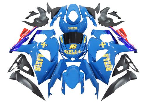 Fairings Suzuki GSXR 1000 Blue Rizla Racing  (2009-2012)