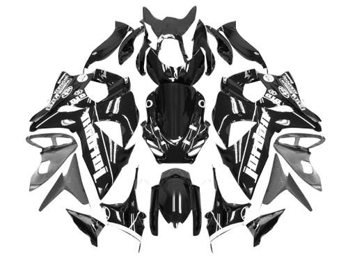 Fairings Suzuki GSXR 1000 Black Jordan Racing  (2009-2012)