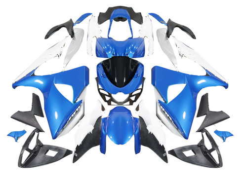 Fairings Suzuki GSXR 1000 Blue & White GSXR Racing  (2009-2012)