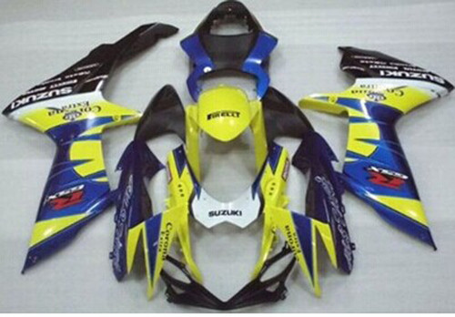Fairings Plastics Suzuki GSXR600 GSXR750 K11 Yellow Blue Alstare (2011-2014)