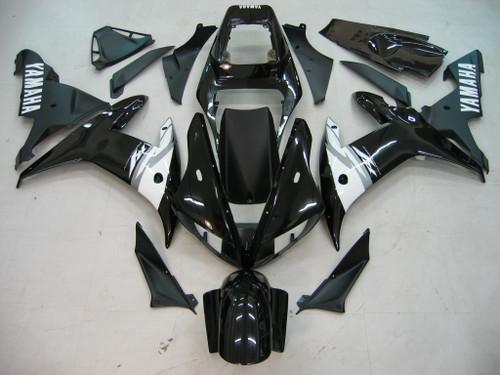 Fairings Yamaha YZF-R1 Black R1 Racing (2002-2003)