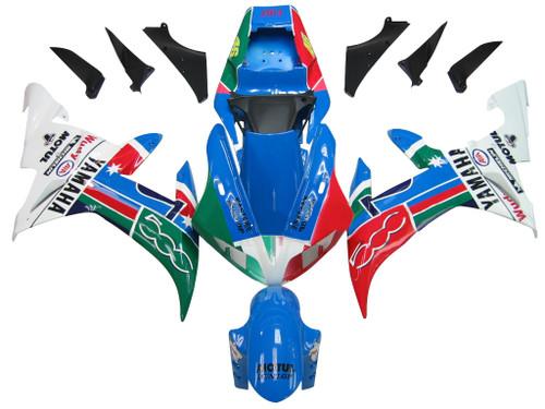 Fairings Yamaha YZF-R1 Multi-Color No.46 R1 Racing (2002-2003)