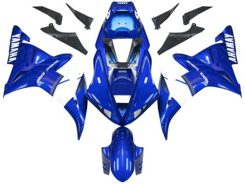 Fairings Yamaha YZF-R1 Super Blue  R1 Racing (2002-2003)