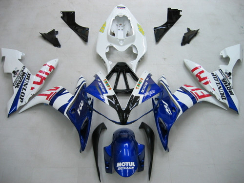 Fairings Yamaha YZF-R1 Blue White No.46 FIAT Racing (2004-2006)