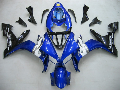 Fairings Yamaha YZF-R1 Blue Black R1 Racing (2004-2006)
