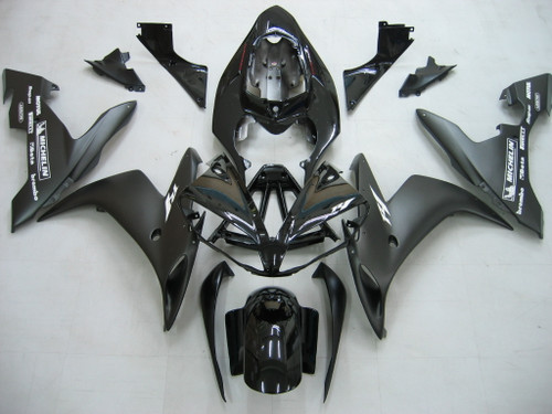 Fairings Yamaha YZF-R1 Contrast  Black R1 Racing (2004-2006)