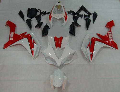 Fairings Yamaha YZF-R1 White & Red R1 Racing (2007-2008)
