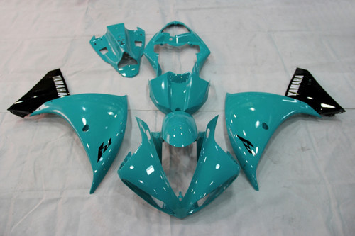 Fairings Yamaha YZF-R1 Emerald Blue Racing (2009-2012)