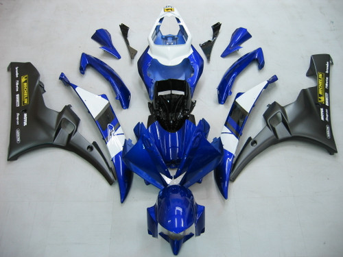 Fairings Yamaha YZF-R6 Blue Black Michelin R6 Racing (2006-2007)