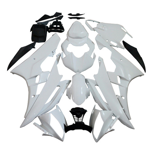 Fairings Yamaha YZF-R6 R6 Racing Primal only Unpainted (2006-2007)