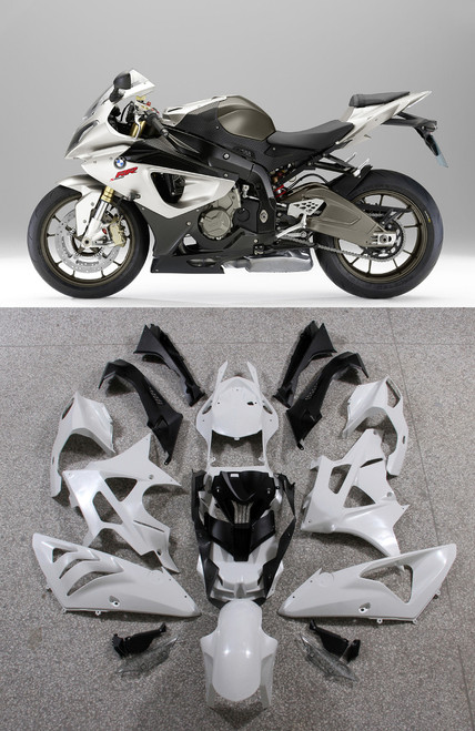 Fairings BMW S1000RR Mineral Silver Metallic SRR Racing (2009-2014)