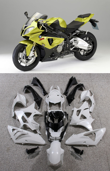 Fairings BMW S1000RR Acid Green Metallic SRR Racing (2009-2014)
