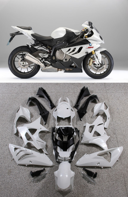 Fairings BMW S1000RR White SRR Racing (2009-2014)