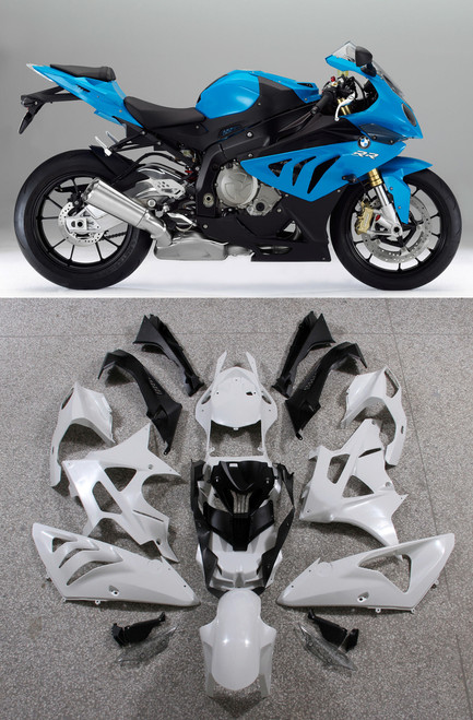 Fairings BMW S1000RR Blue SRR Racing (2009-2014)