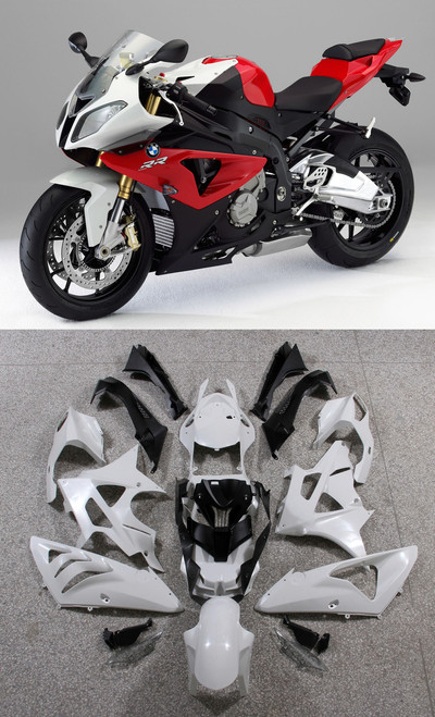 Fairings BMW S1000RR Red SRR Racing (2009-2014)