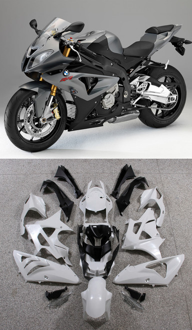 Fairings BMW S1000RR Grey SRR Racing (2009-2014)