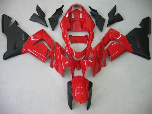 Fairings Kawasaki ZX10R Red and Black Ninja Racing (2004-2005)
