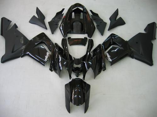 Fairings Kawasaki ZX 10R All Black Ninja Racing (2004-2005)
