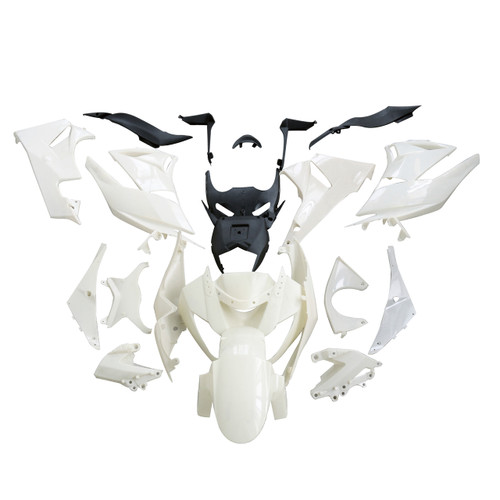 Fairings Kawasaki ZX6R ZX636 Ninja Racing Primal only Unpainted (2009-2012)