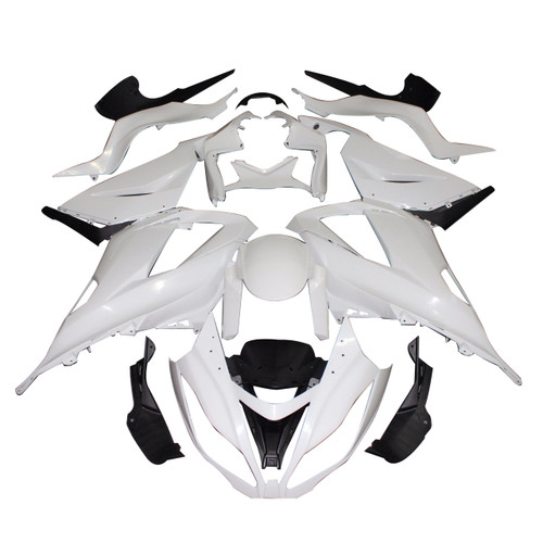 Fairings Plastics Kawasaki ZX6R 636 Ninja Racing Primal only Unpainted(2013-2016)
