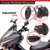 Adjustable Clip On Windshield Extension Spoiler Wind Deflector Clear