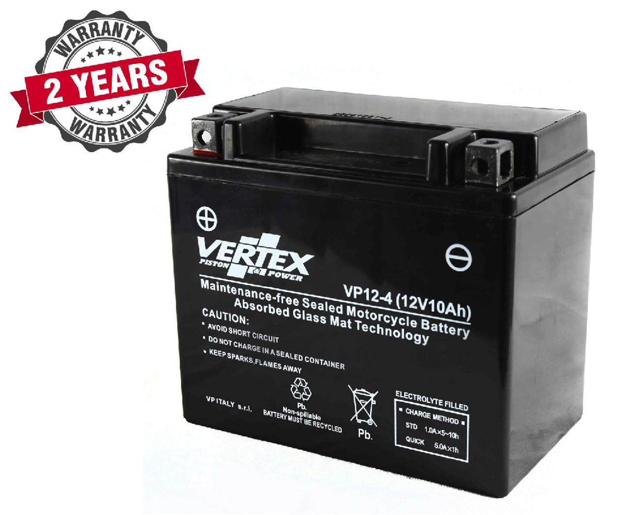 Vertex Battery For Kawasaki ZR-7 750 F 1999-2000
