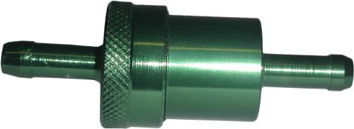 Fuel Filter 7mm Anodised Aluminium Green (Each)