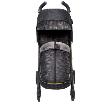Luxury All Weather Stroller Footmuff, Universal Fit from Baby to Toddler With Cozy Super Soft Padding, Weatherproof, Water Resistant Lining, [Black Camo]