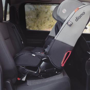 Angle Adjuster Car Seat Leveler Demonstration Image - Adjuster under Car Seat [Black]