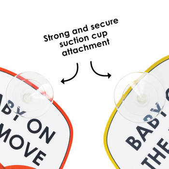 Strong suction cups for secure attachment