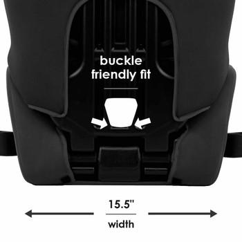 Buckle friendly fit 15.5 in width [Black]