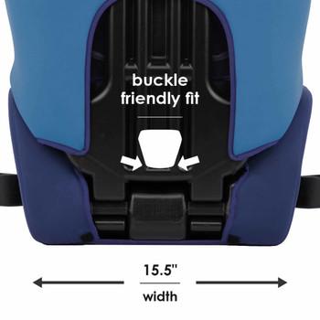 """Buckle friendly fit 15""""5 in width [Blue]"""