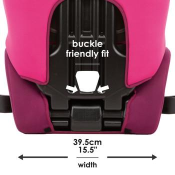 """Buckle friendly fit 15""""5 in width [Pink]"""
