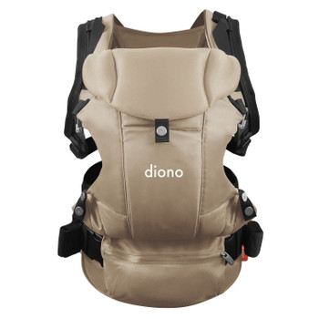 Diono Carus Complete 4-in-1 Child & Baby Carrying System with Detachable Backpack [Sand]