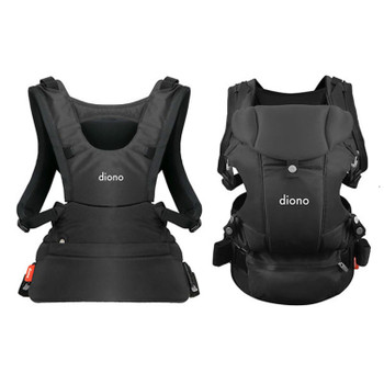 Diono Carus Essentials 3-in-1 Carrying System from Birth up to 3 Years [Gray Dark]
