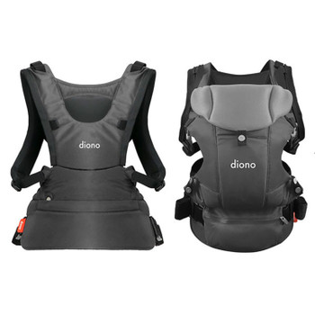 Diono Carus Essentials 3-in-1 Carrying System from Birth up to 3 Years [Gray Light]