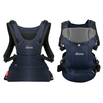 Diono Carus Essentials 3-in-1 Carrying System from Birth up to 3 Years [Navy]