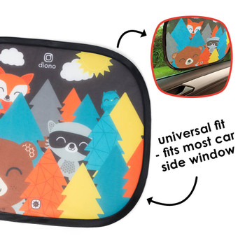 Universal fit, fits most car side windows