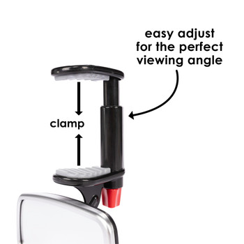 Diono Baby Car Mirror 2 Pack - See Me Too: Easily adjustable for the perfect viewing angle [Silver]