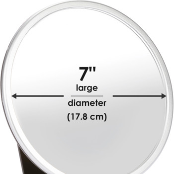 Diono Baby Car Mirror 2 Pack - Easy View  dimensions [Silver]