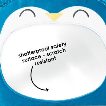 Features shatterproof safety surface that is scratch resistant [Owl]