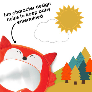 Features fun character design to keep baby entertained  [Fox]