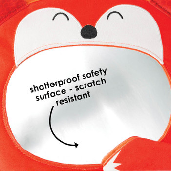 Features shatterproof safety surface that is scratch resistant  [Fox]