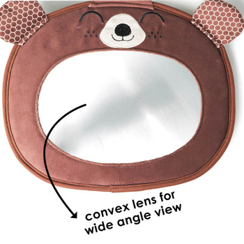 Convex lens provides a wide angle view [Bear]