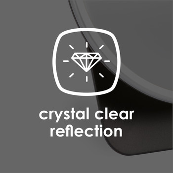 Diono Easy View® Baby Car Mirror - Crystal Clear Reflection [Silver]