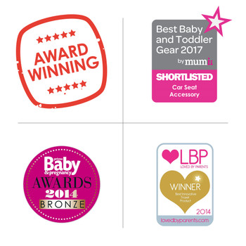 Diono Easy View® Baby Car Mirror - 3 winning awards for this product [Silver]