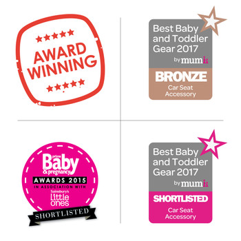 Diono Easy View® Plus Baby Car Mirror - Award winning product [Silver]
