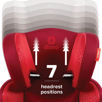 7 position headrest [Red]