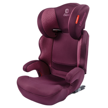 Everett NXT high back booster seat [Plum]